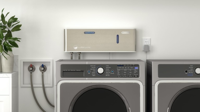 O3waterworks Aqueous Ozone Laundry System on-demand clothing sanitizer uses no detergent