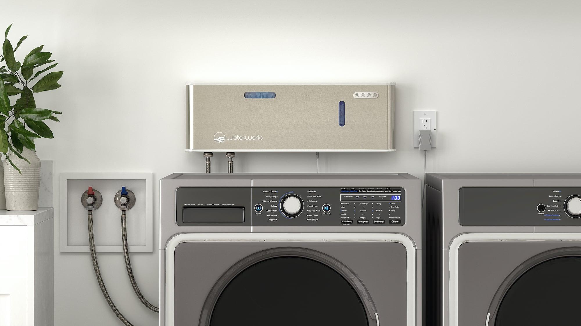 O3waterworks Aqueous Ozone Laundry System On-Demand Clothing Sanitizer