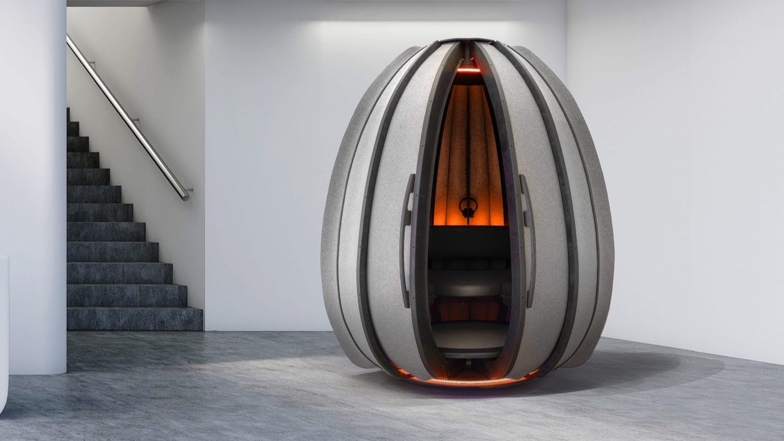 OpenSeed Meditation Pod creative escape gives you a calm space at work