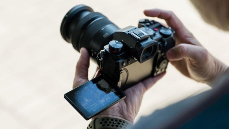 Panasonic Lumix S5 mirrorless camera has a 24.2-megapixel sensor