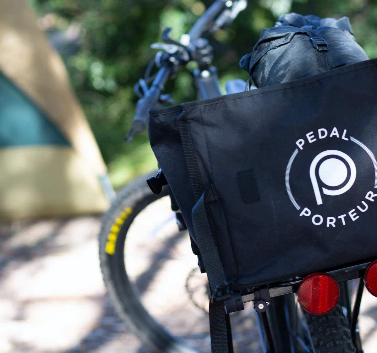 PedalPorteur bicycle cargo system fits things of all different sizes