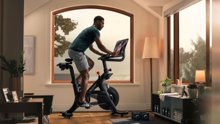 Peloton Bike+ Home Exercise Bicycle