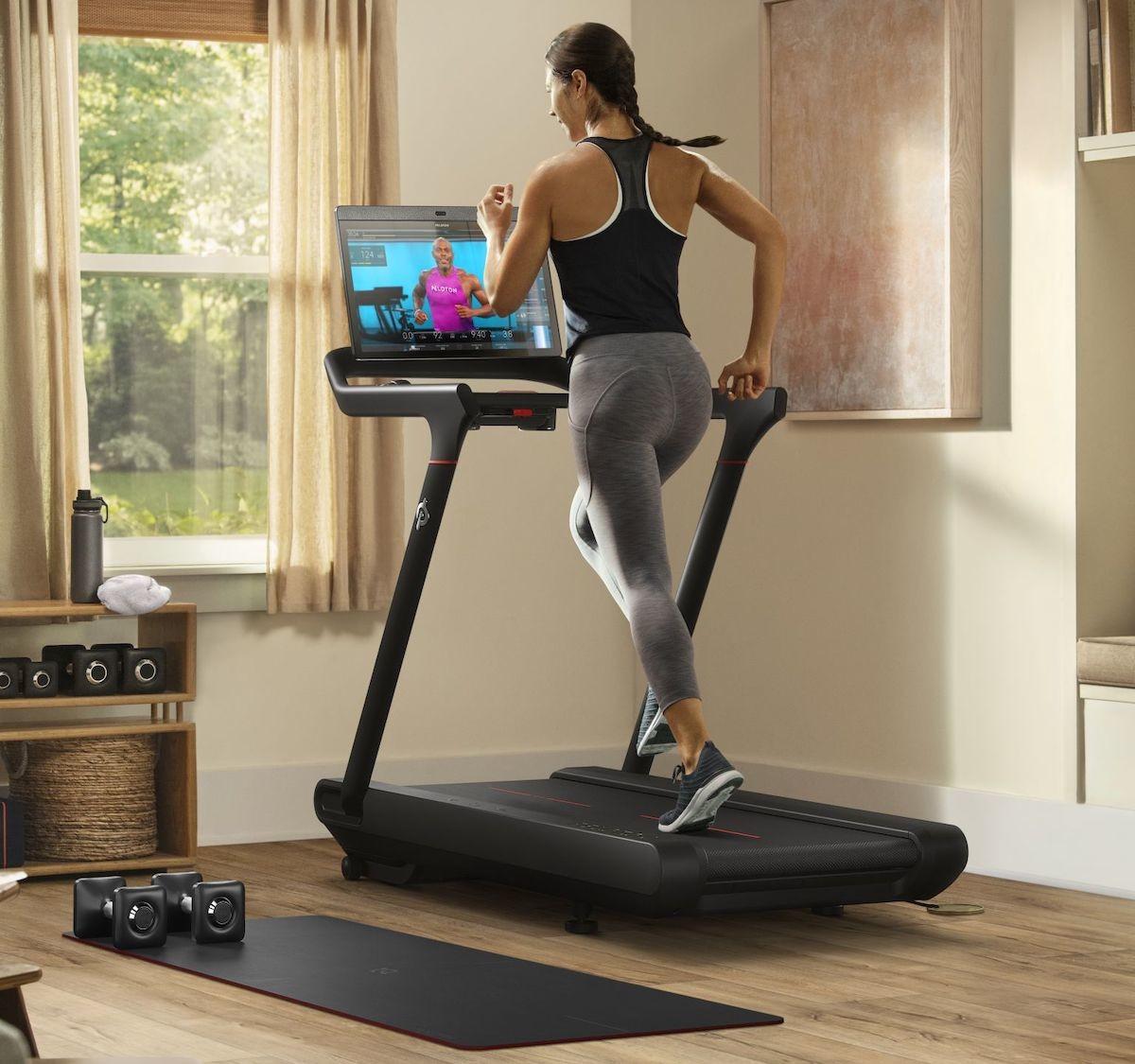 Peloton Tread running machine offers a total body workout