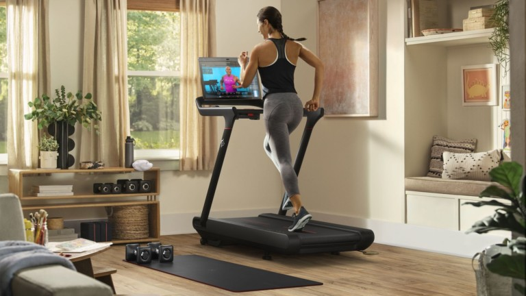 Peloton Tread running machine offers a total body workout