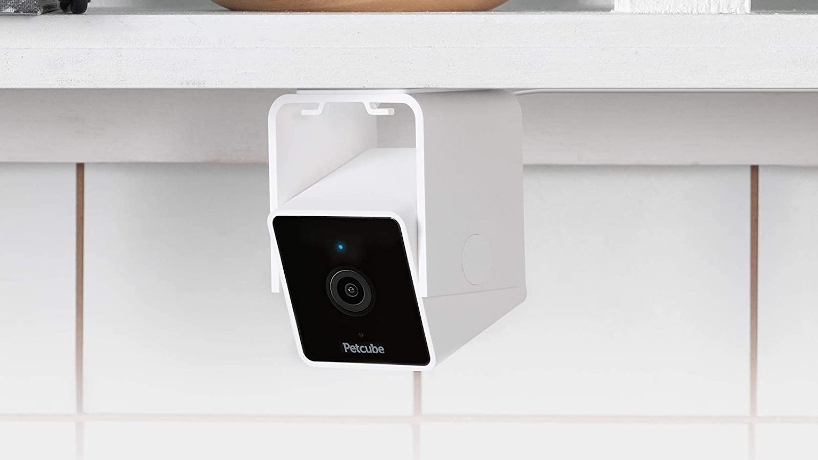 Petcube Cam pet monitoring camera has a built-in chat with your vet