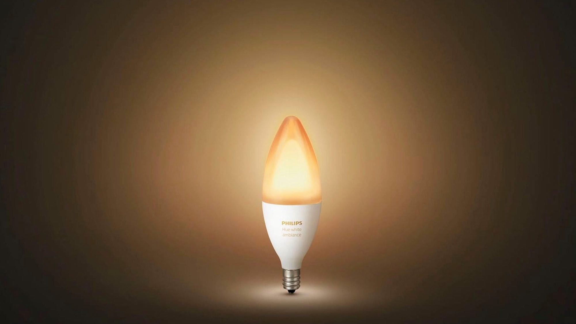 Philips Hue E12 candelabra Bluetooth bulb is easy to control with your phone