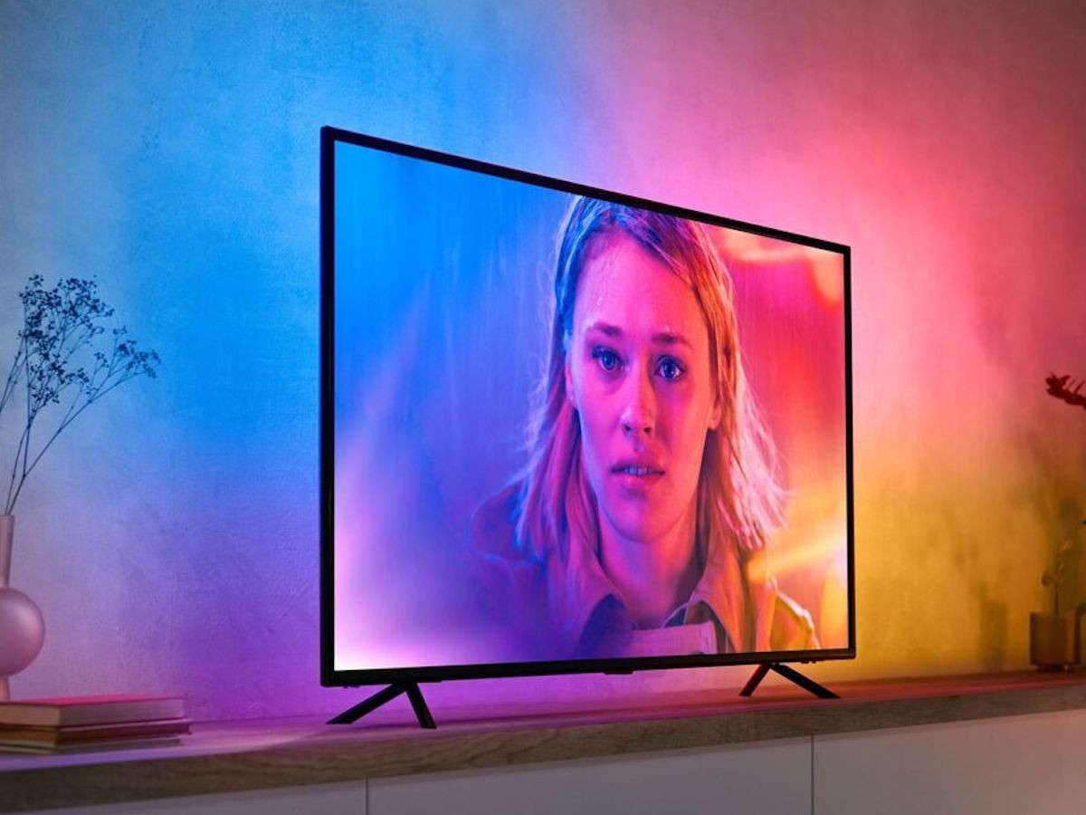 Philips Hue Play gradient lightstrip adds a colorful effect to your home theater