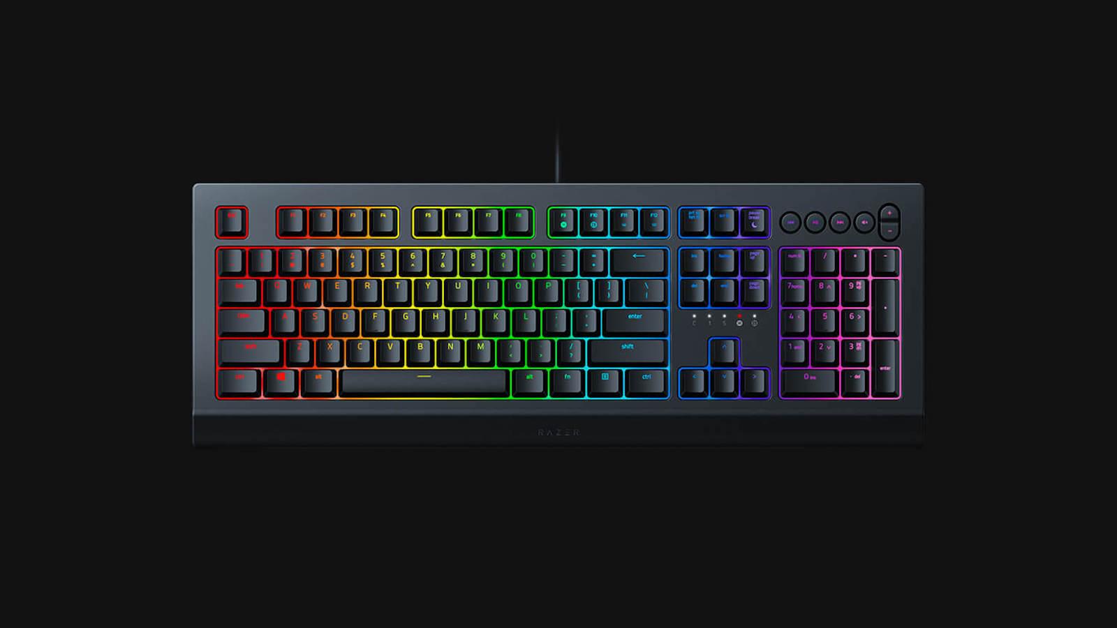 Razer Cynosa V2 RGB gaming keyboard has customizable lighting