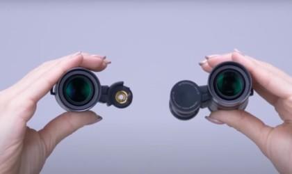 Ricoh PENTAX VD 4x20 WP 3-in-1 Binoculars