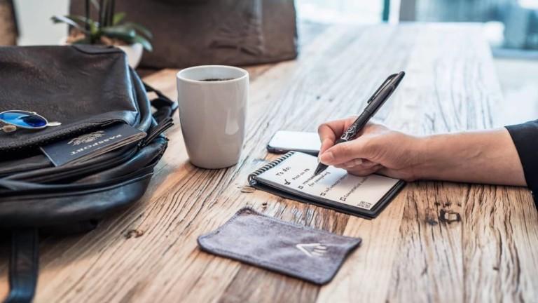 Rocketbook Mini Reusable Compact Notebook