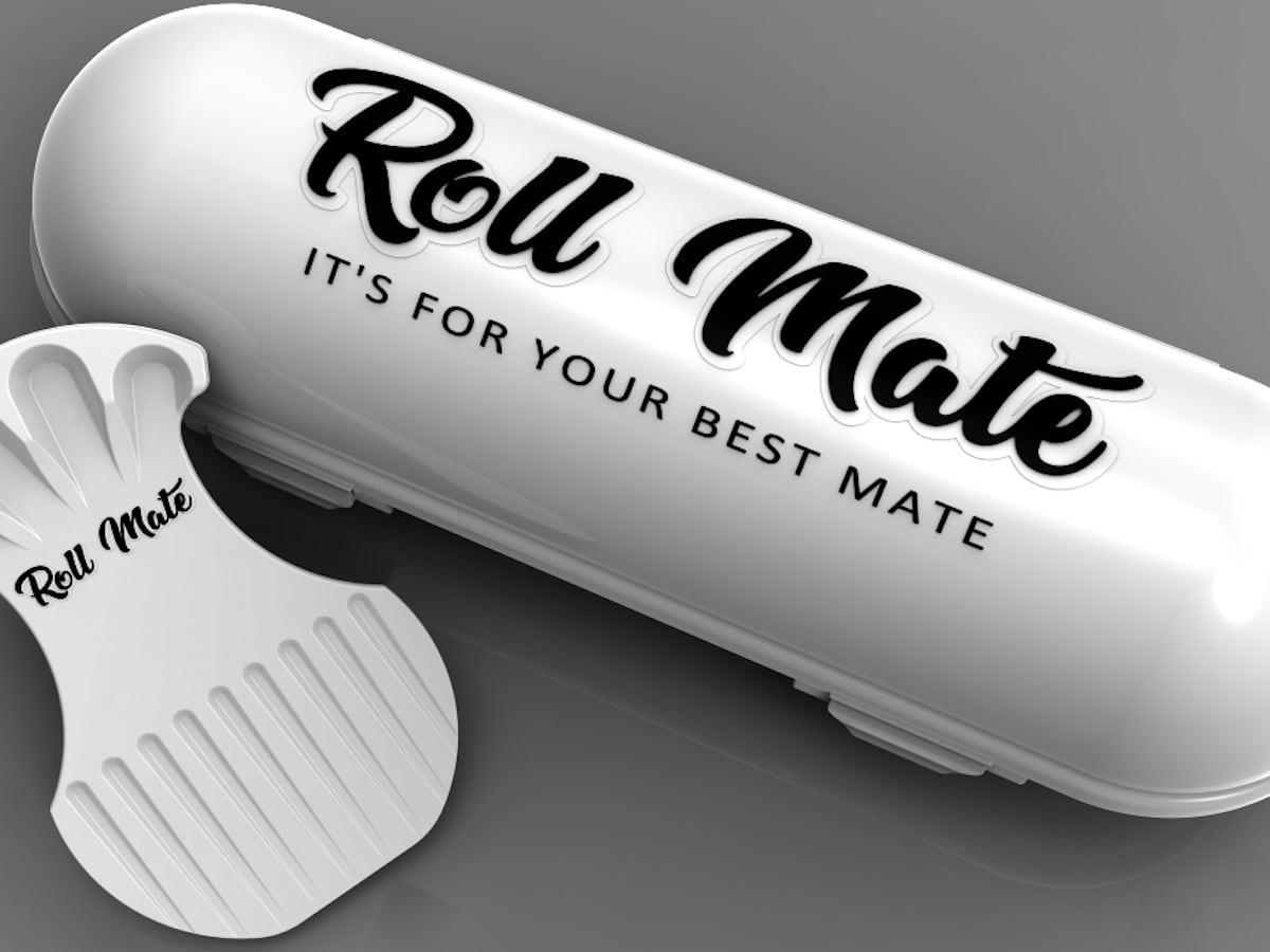 Roll Mate Dog Roll Container pet food storage keeps your refrigerator clean