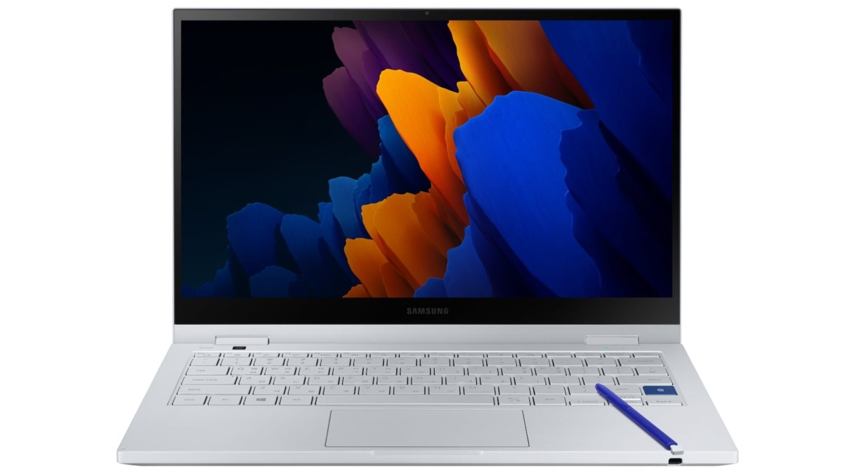 Samsung Galaxy Book Flex 5G 2-in-1 Laptop runs on an Intel Tiger Lake processor