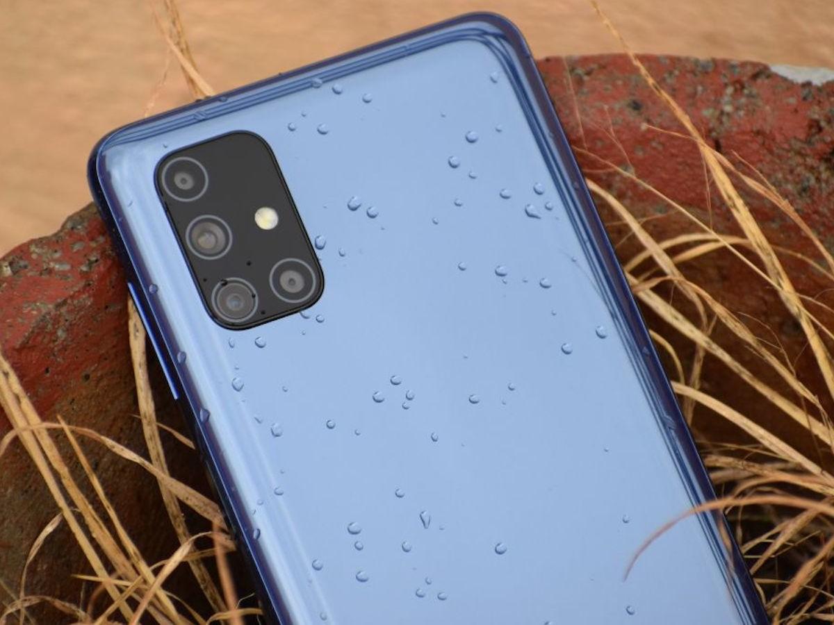 Samsung Galaxy M51 phone sports a big 7,000 mAh battery
