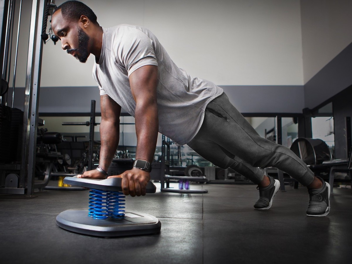 StrongBoard Balance Board fitness stability tool intensifies your workouts