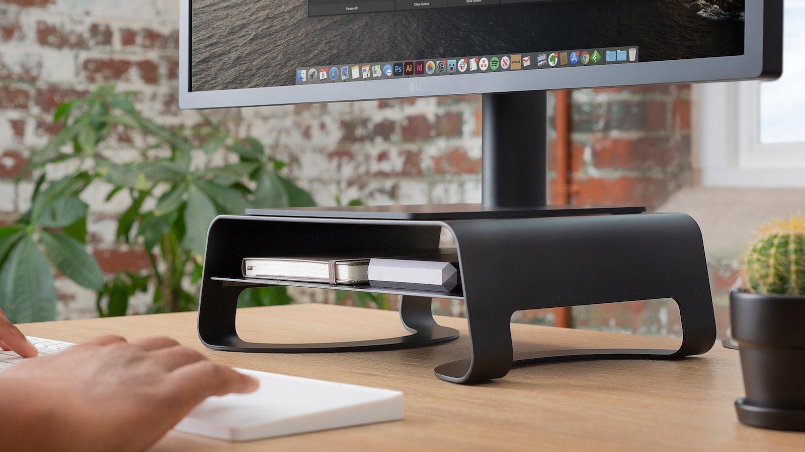 Twelve South Curve Riser iMac stand has a ventilated design