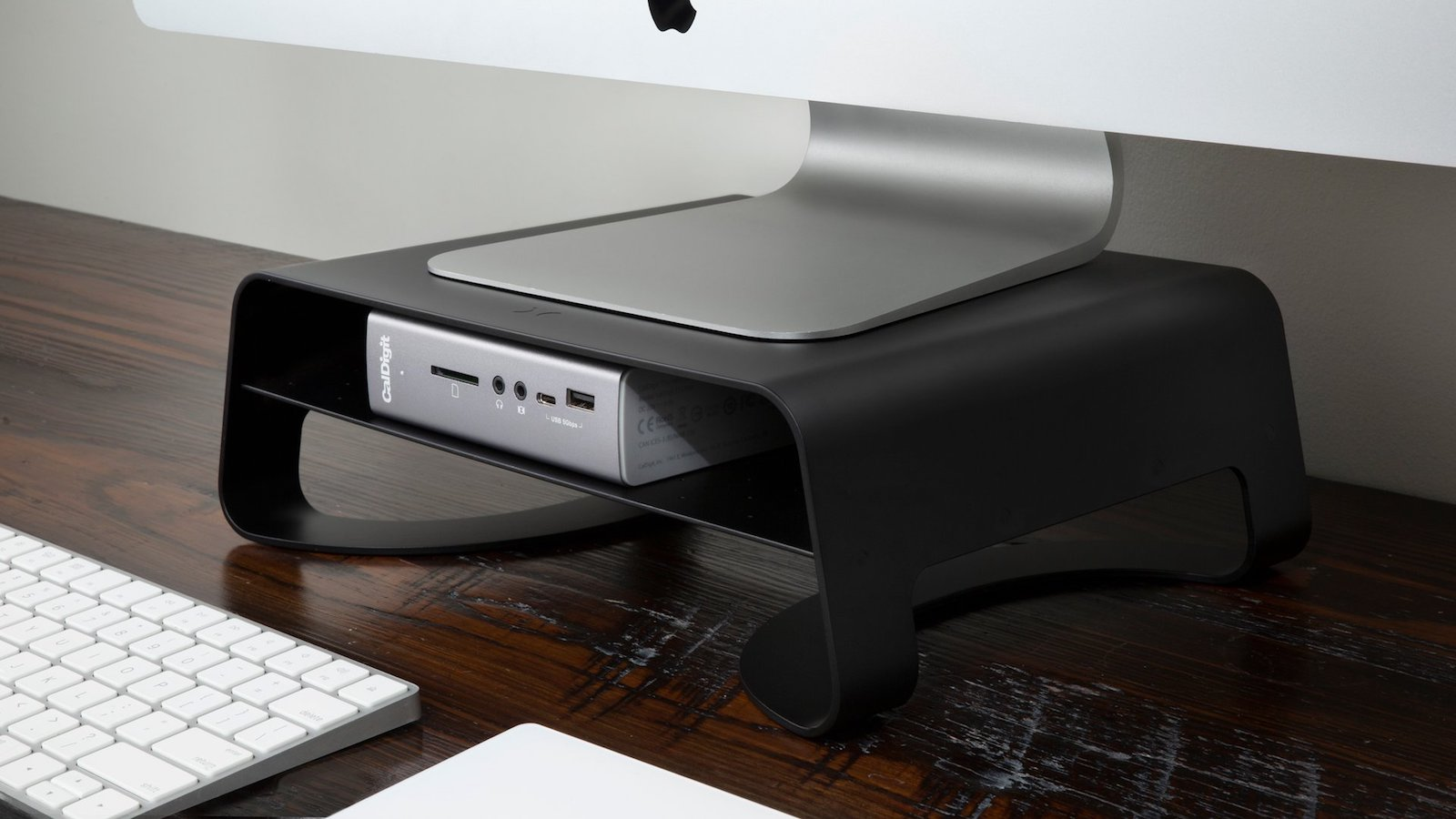 Twelve South Curve Riser iMac stand has a ventilated design