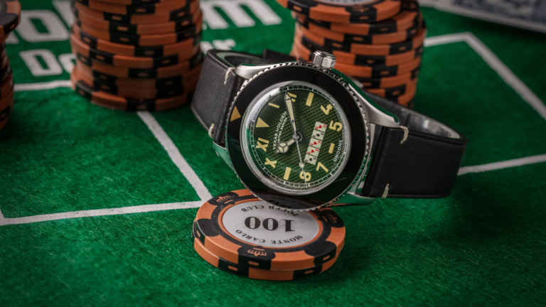 UNDONE Texas Holdem poker-themed watch boasts a Basecamp Cali dial
