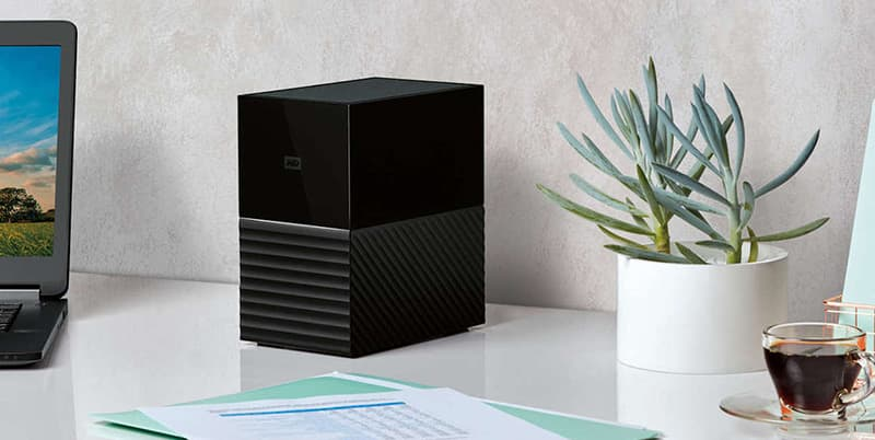 WD My Book Duo External Storage Device