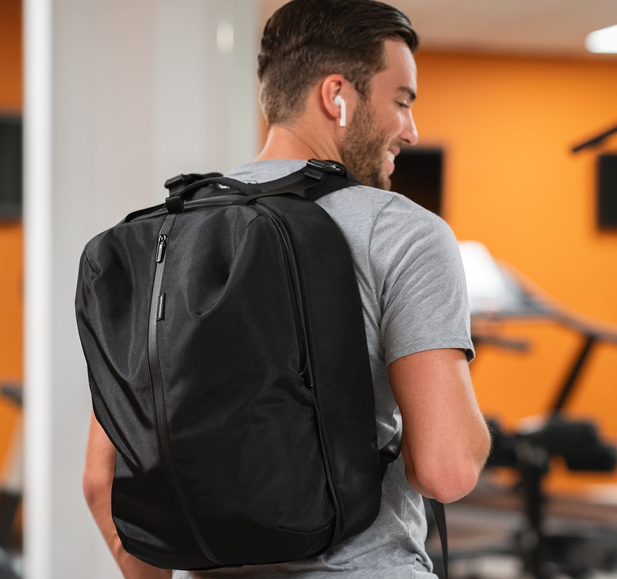 XD Design Flex Line sustainable baggage collection includes the Foldable Trolley & Gym Bag