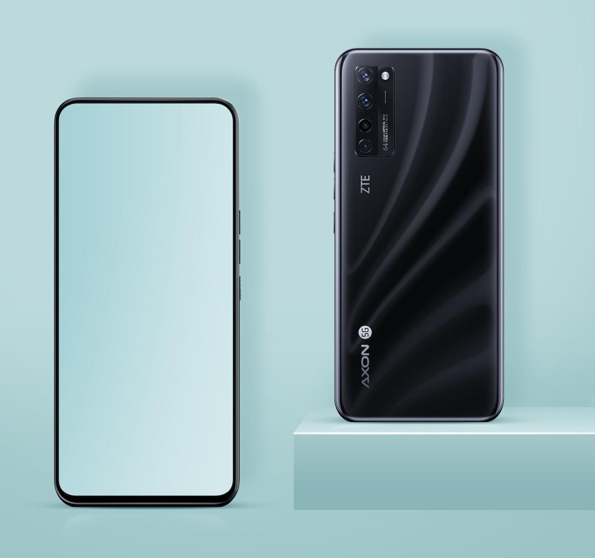 ZTE Axon 20 5G under-display camera smartphone has basically zero bezels