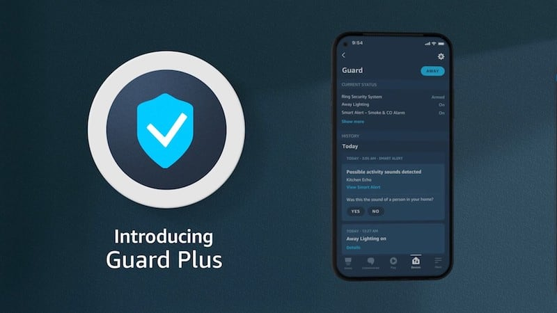 Alexa Guard Plus Feature