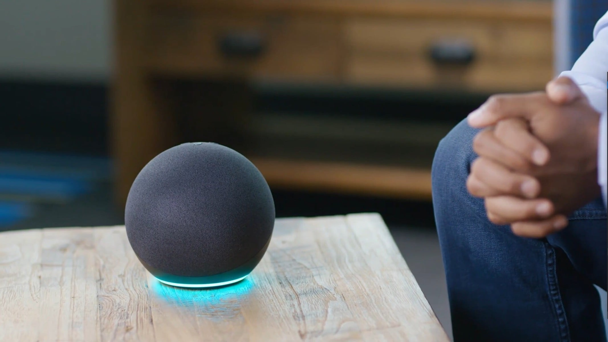 The New Spherical Echo on a Table