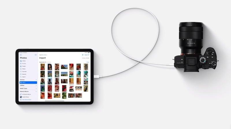iPad Air with USB-C