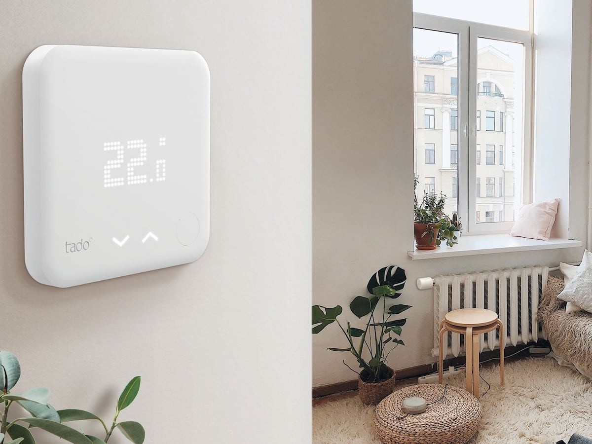 tado° Smart Thermostat V3+ detects open windows to save money
