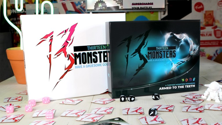 13 Monsters battle-memory game combines different tactics to win