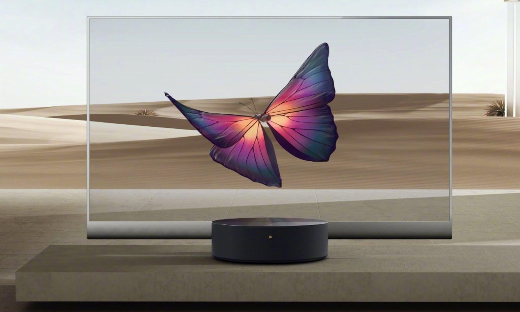Xiaomi Mi TV LUX OLED Transparent Edition clear TV