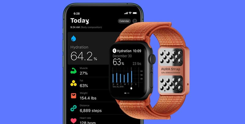 AURA Strap Smart Apple Watch Band