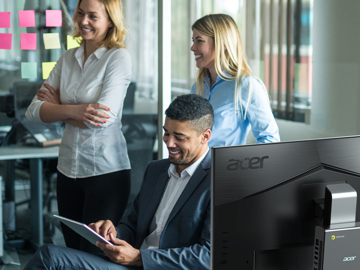 Acer Chromebox Enterprise CX14 compact desktop computer gives you a tiny form factor