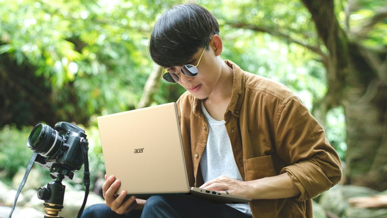 Acer Swift 3X ultrathin laptop gives you up to 17.5 hours of all-day battery