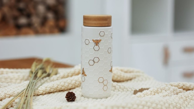 Acera Honey Bee Collection Travel Mugs