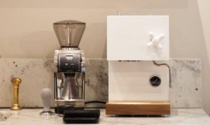 AnZa White Home Espresso Machine