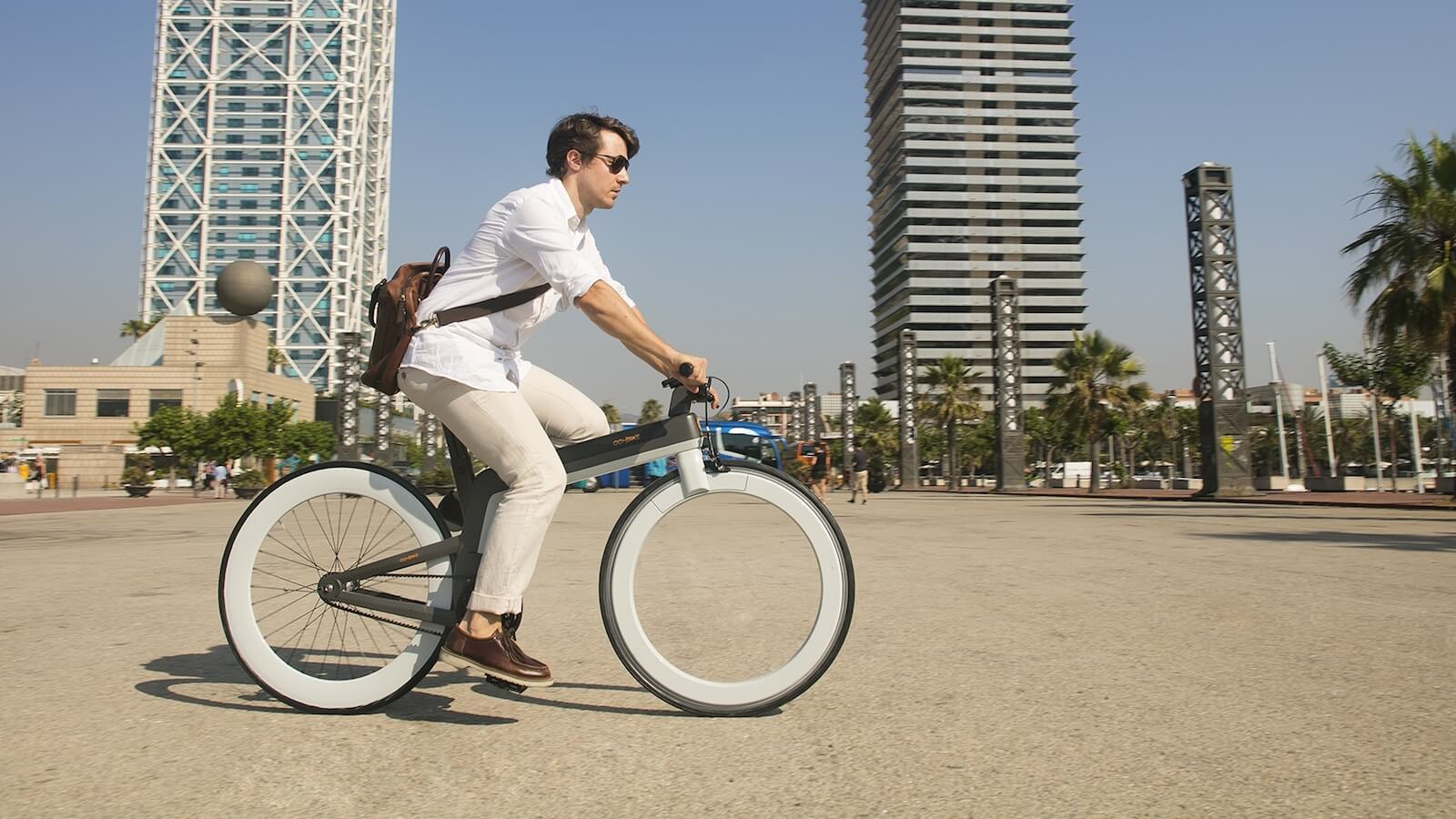 OOHBIKE conceptual eBike offers storage room in the wheel