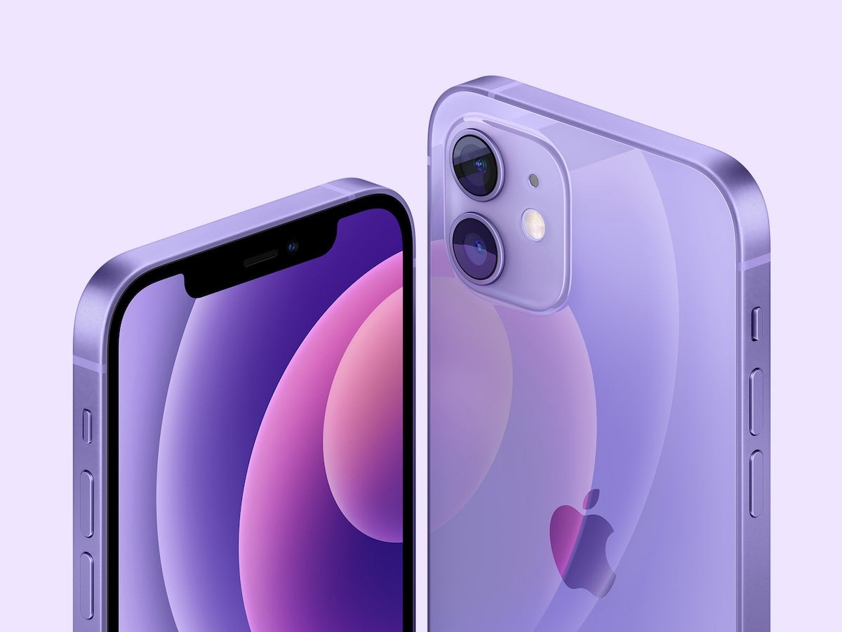Apple iPhone 12 & 12 mini 5G smartphones now come in a gorgeous purple option