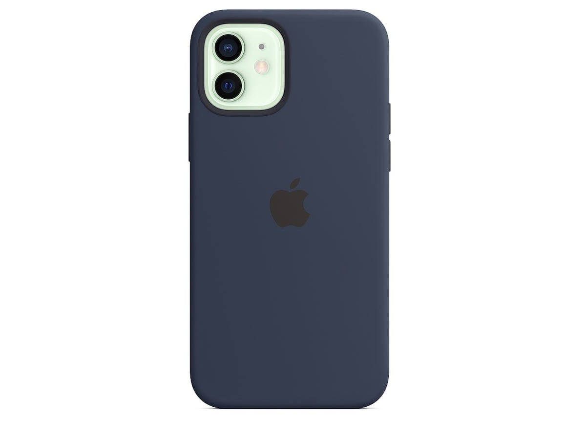 Apple iPhone 12 & 12 Pro MagSafe Silicone Case provides faster wireless charging