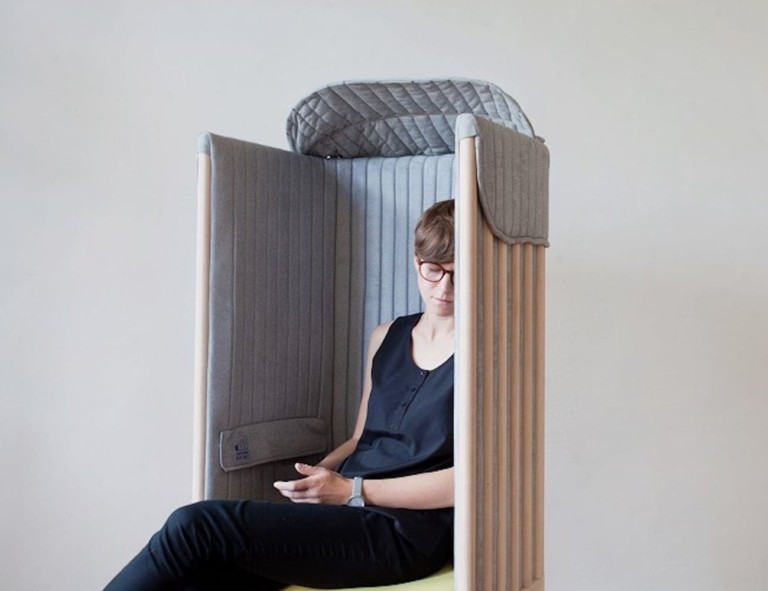 Behance Offline Seat Signal-Blocking Office Chair
