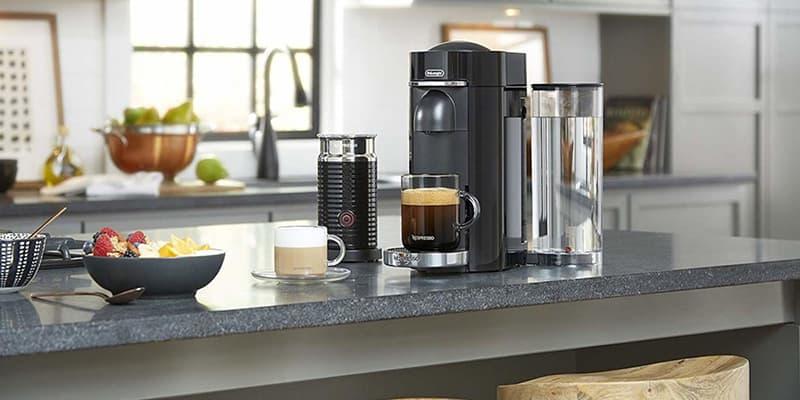 Breville Nespresso VertuoPlus Deluxe Capsule Coffee Maker