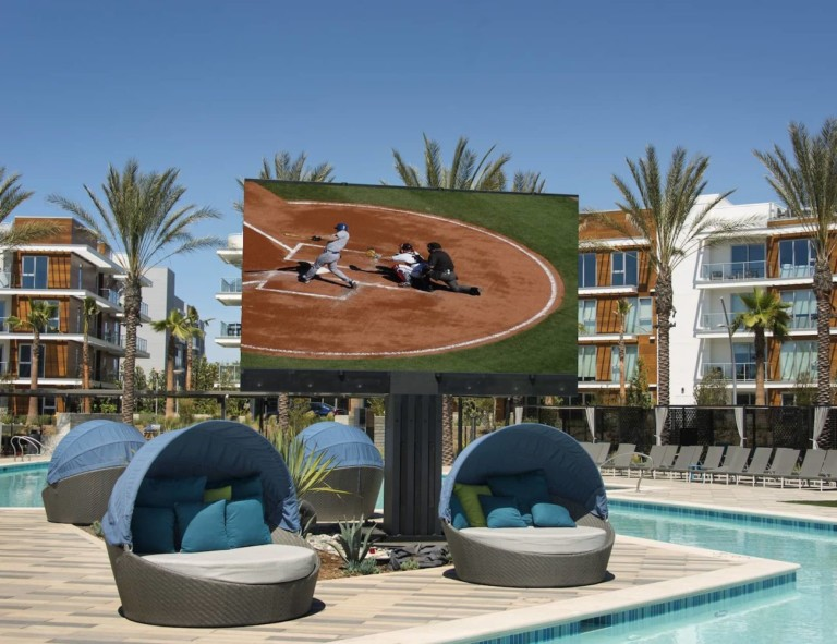 C SEED 201 Giant Outdoor LED TV