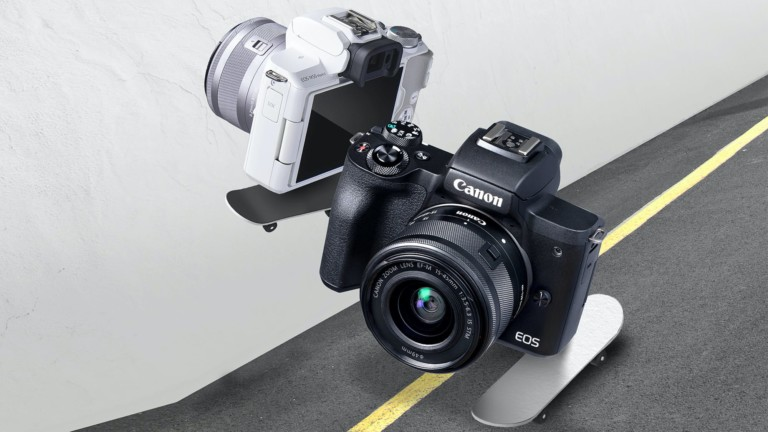 Canon EOS M50 Mark II interchangeable lens camera has video and streaming abilities
