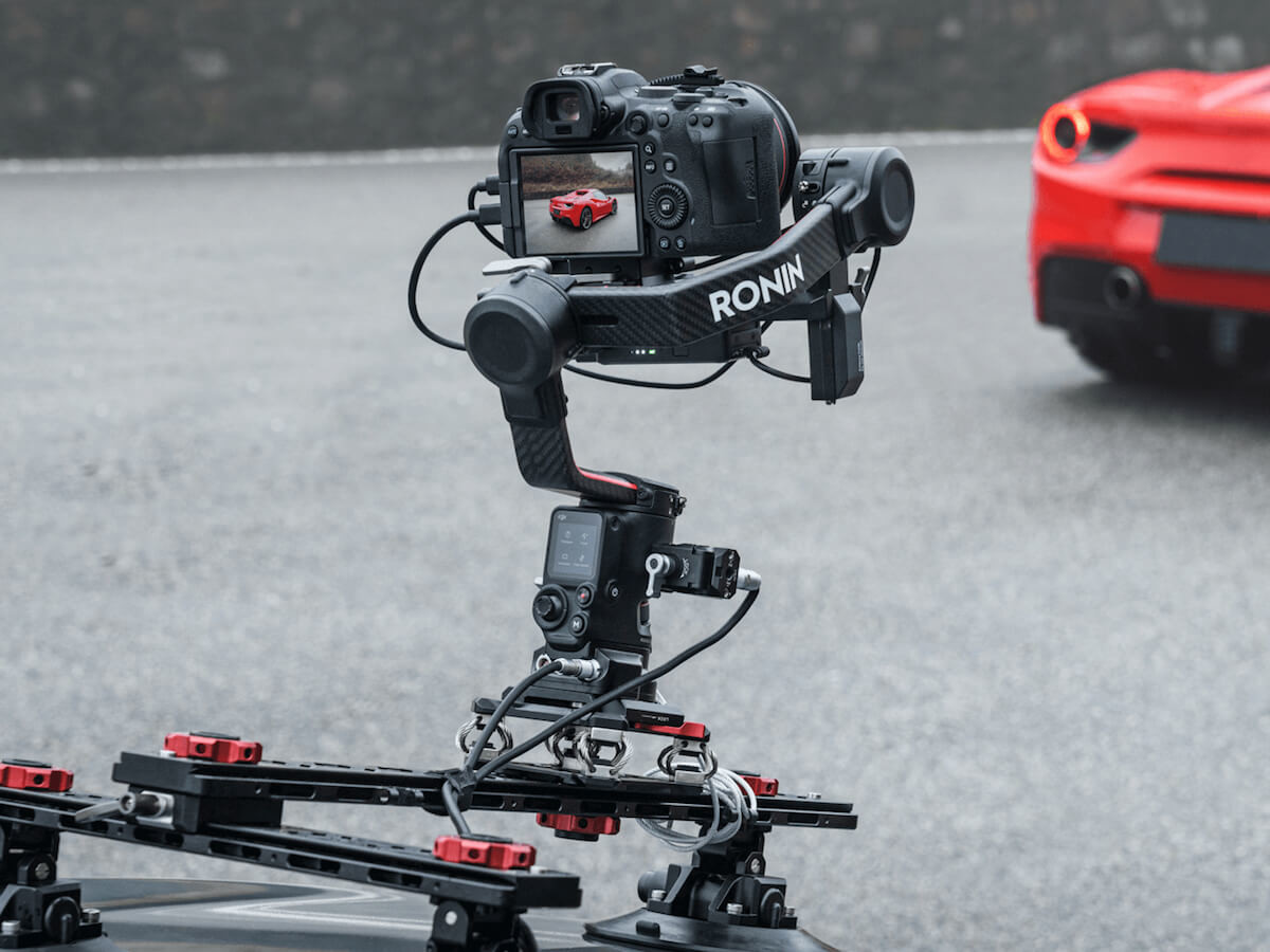 DJI RS 2 cinematography gimbal gives you industry-leading camera stabilization