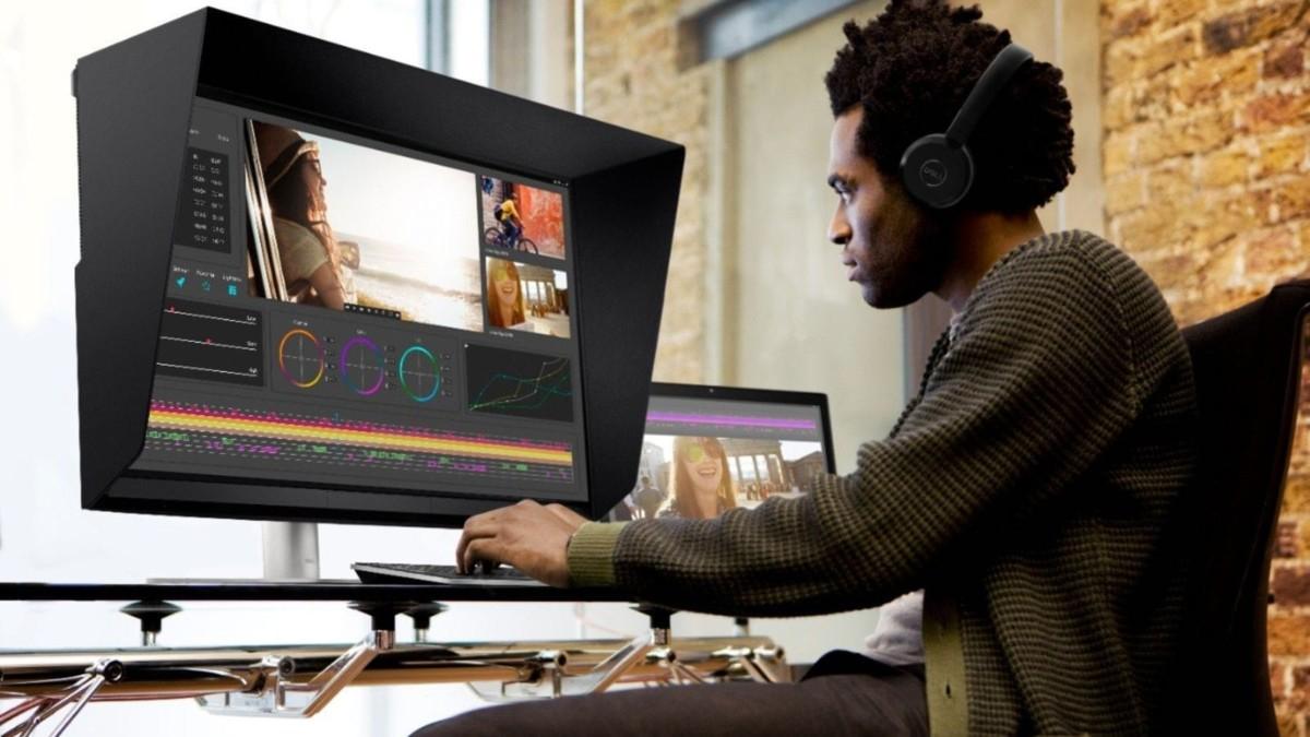 Dell UP3221Q UltraSharp 32 HDR PremierColor monitor has mini-LED backlit dimming zones