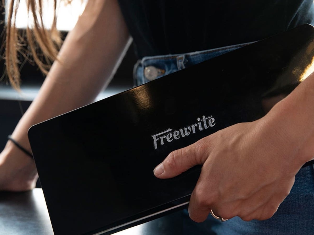 Freewrite Traveler writing device keeps you focused with no access to a browser or e-mail