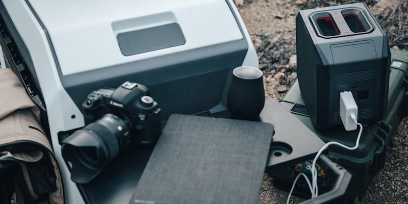 Furrion eRove battery-powered cooler