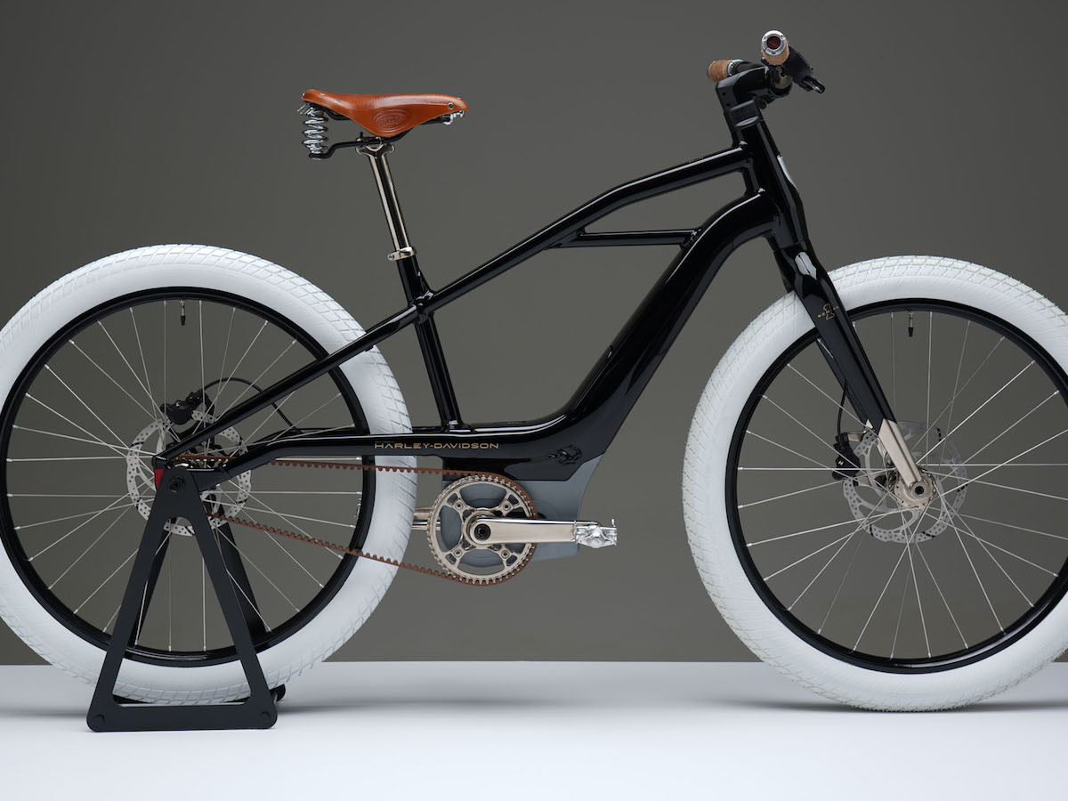 Harley-Davidson Serial 1 electric bike is designed similar to the brand's first motorcycle