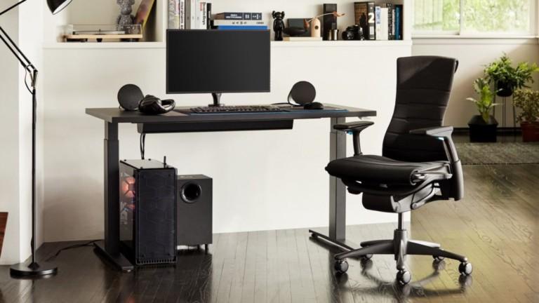 Herman Miller Logitech G Embody Gaming Chair Adjustable Seat