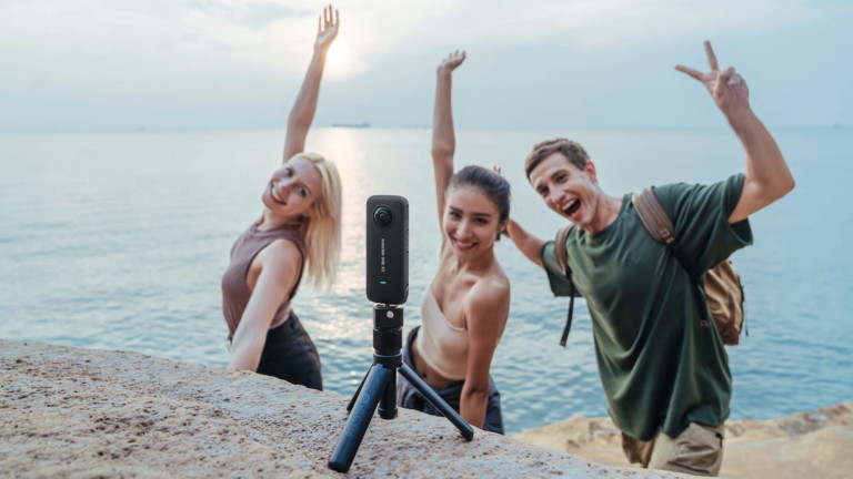 Insta360 ONE X2 pocket camera features single-lens stable technology