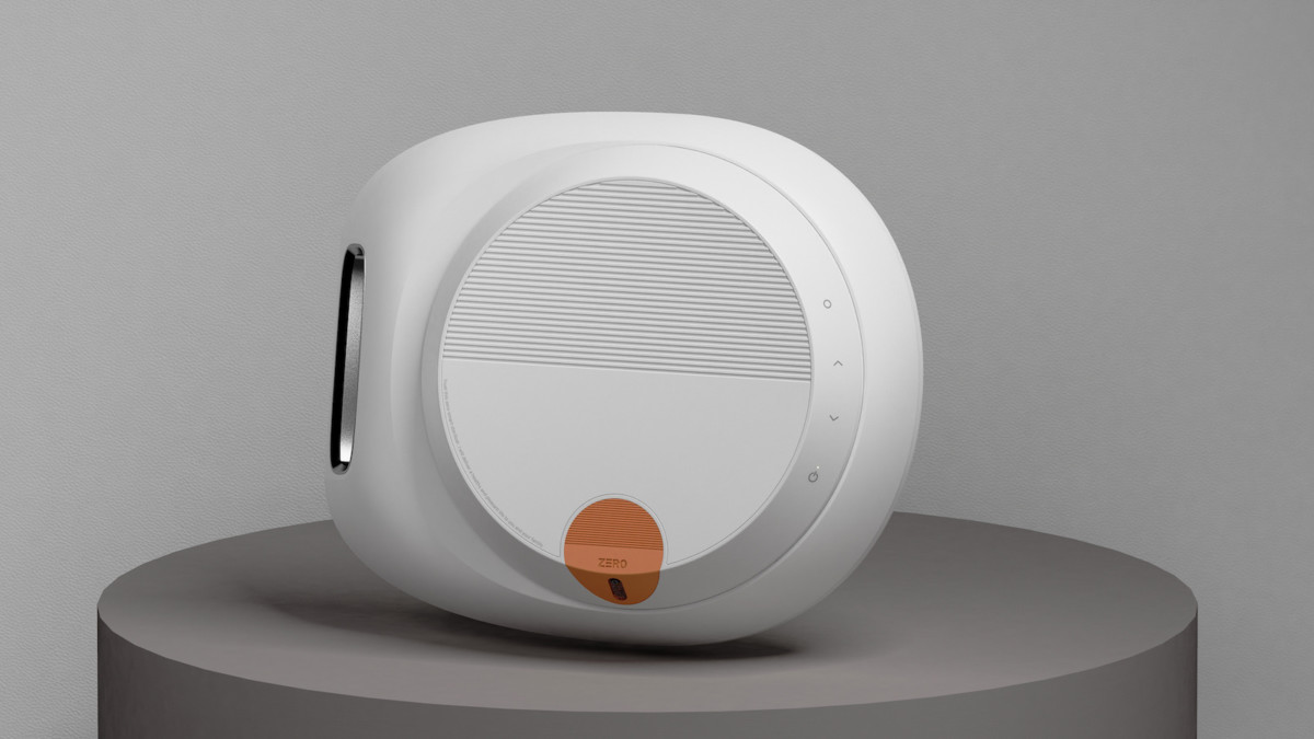 JUNG YU JUNG Zero smart sterilizer disinfects your phone and your hands
